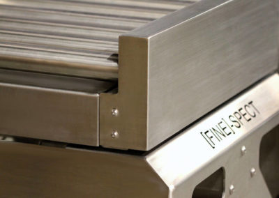 Convoyeur a rouleaux avec pesage 400x284 - Convoyeurs de pesage à rouleaux