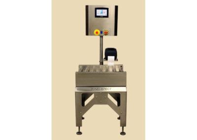 Convoyeur de pesage de cartons  400x284 - Convoyeurs de pesage à rouleaux