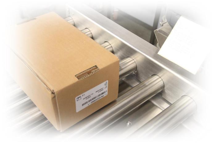 Pesage et etiquettage en ligne - Convoyeurs de pesage à rouleaux