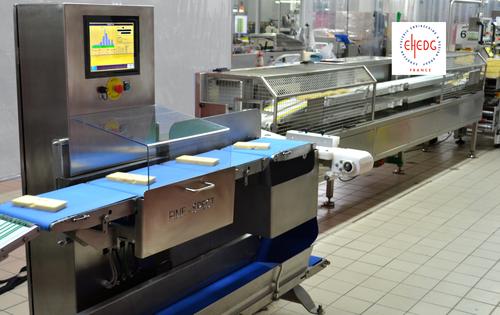 Fine Spect Check weigher CW 120 hygiénique Industrie laitière - Trieuse pondérale hygiénique