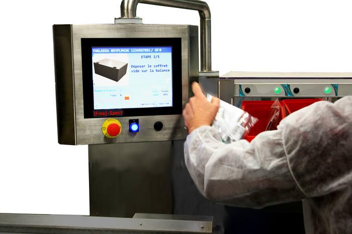 Poste dassemblage avec contrôle par pesage - Assemblage assisté par pesage