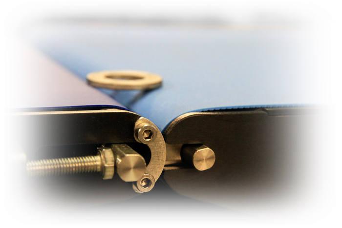Tapis de pesage avec rouleaux de faible diamètre - Tapis de pesage