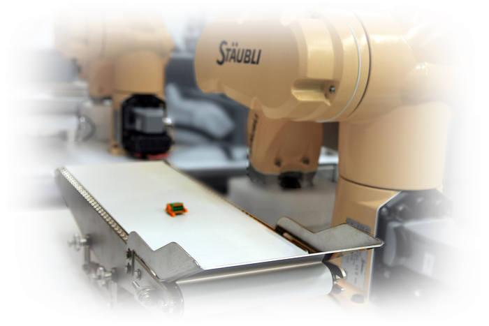 Tapis de pesage et de controle pour robotique - Tapis de pesage