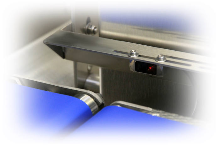 Trieuse pondérale avec cellule de détection - Trieuse pondérale hygiénique