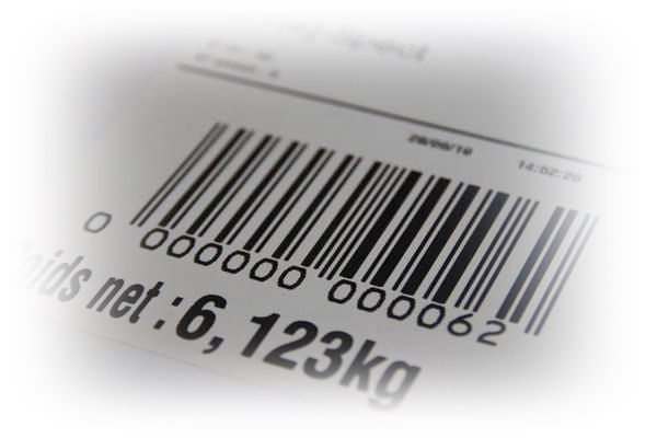 edition etiquettes code barre Fine Spect - Tapis de pesage