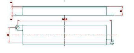 boitier carte dimensions - Capteurs, cartes et solutions de pesage