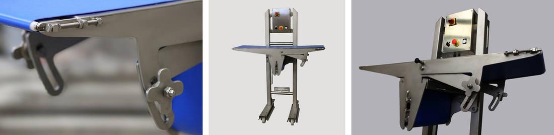 tapis de transfert avec inclinaison réglable 2 - Tapis de compensation de hauteur
