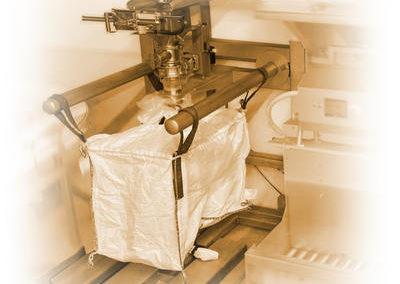 Pesage et remplissage de big bag