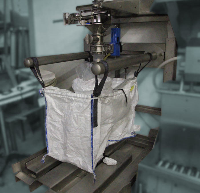 Remplissage pesage de big bag