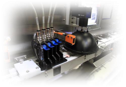 Controle de limpression par caméra - Étiquetage contrôlé par vision