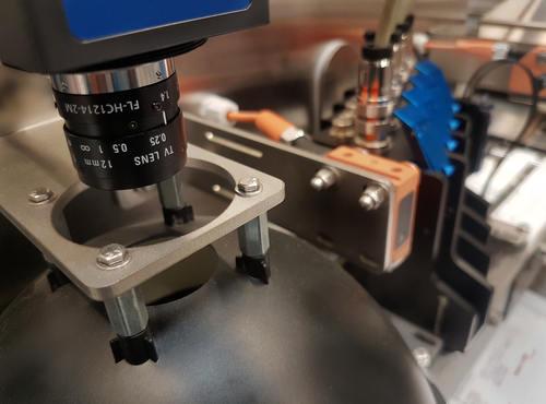 qualité dimpression controlée par caméra - Étiquetage contrôlé par vision