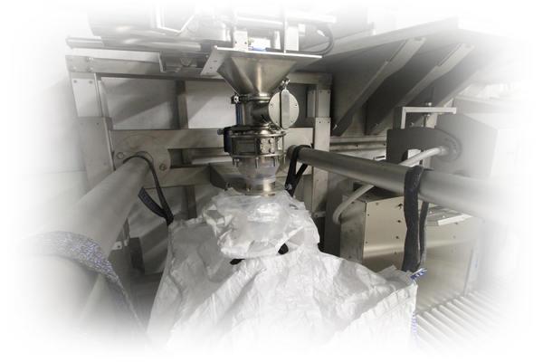 Remplissage automatique de big bag - Pesage de big bag