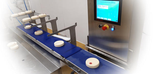 Calibreuse de fromages 1 - Réalisation : Calibreuse de produits